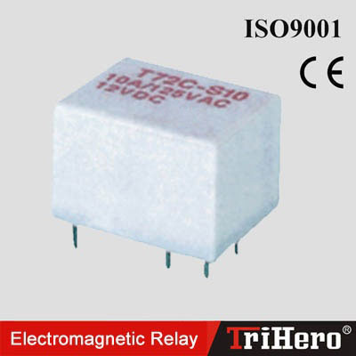 Mini Electromagnetic Relay T72(4459) - China Sanying Electric